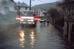 Marvejols, quartier de l'Empéry, le 3 décembre 2003
