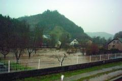Marvejols, l'Empéry sous l'eau en 2003