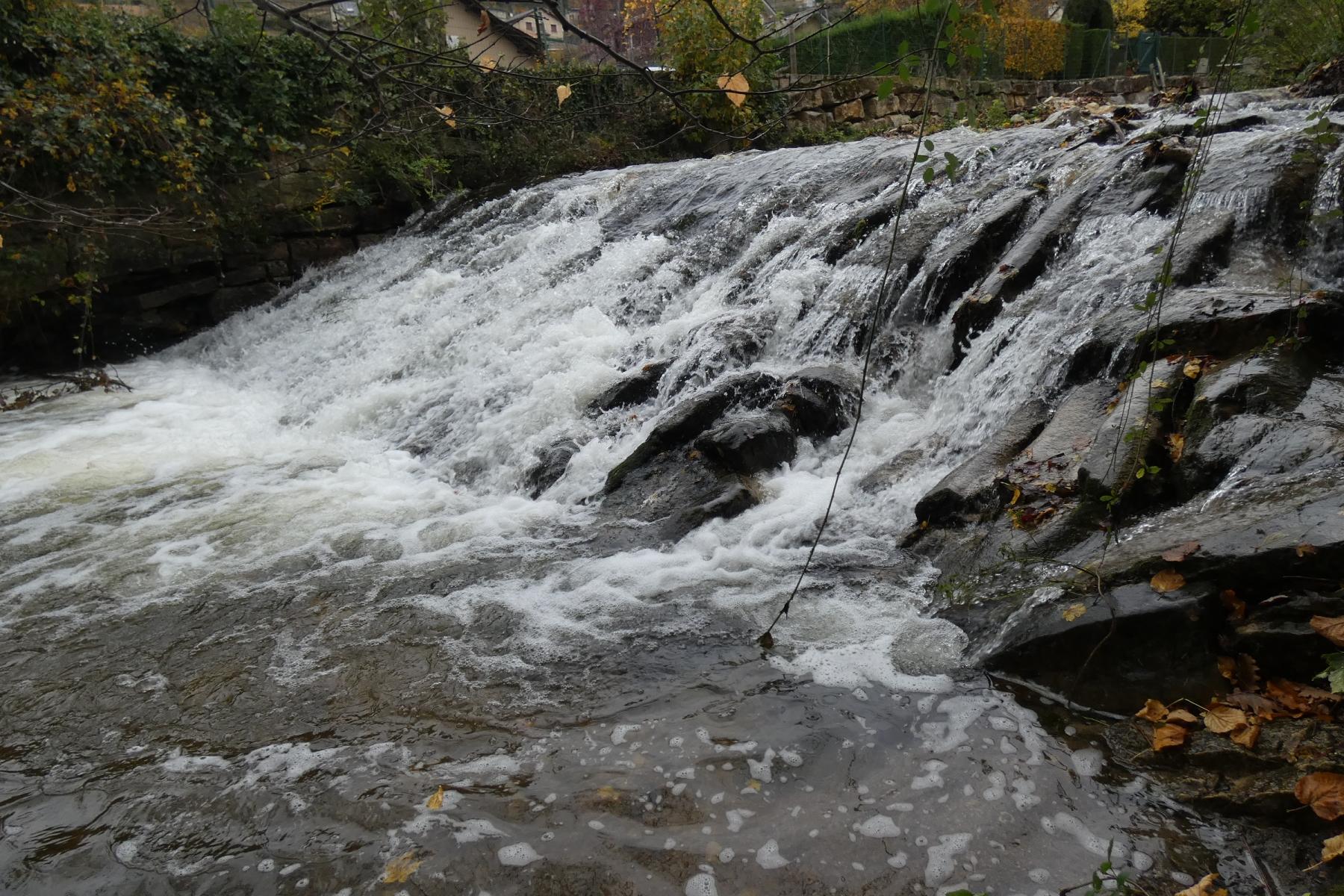 Seuil du Coulagnet bas, commune de Marvejols