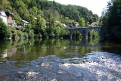 Le Lot à Entraygues-sur-Truyère