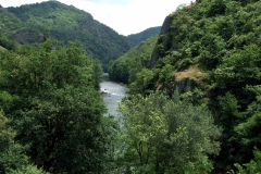 La vallée du Lot à Entraygues-sur-Truyère
