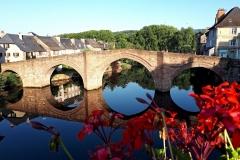 Le Lot au Pont Vieux d'Espalion
